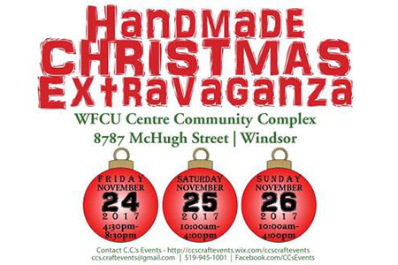 Handmade Christmas Extravaganza Presented by C.C's Events
