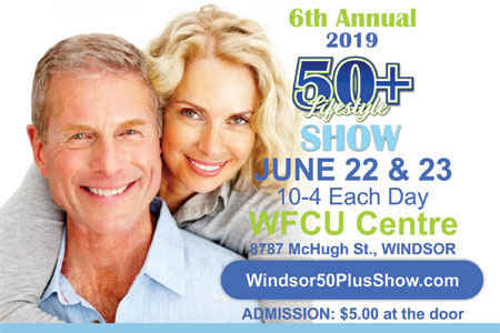 The 6th Annual Windsor 50+ Show June 22 & 23, 2019
